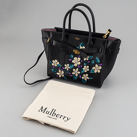 "Mulberry, ""small zipped bayswater"" tote bag."