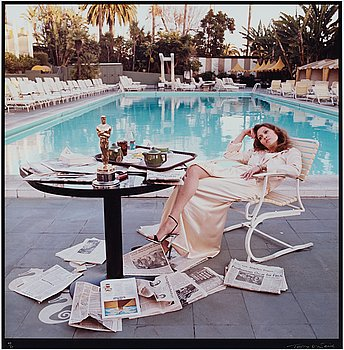 "148. Terry O'Neill, ""Faye Dunaway, Hollywood, 1977""."