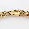Collier 18k guld, hänge med lapis lazuli medföljer.