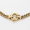 Halslänk/armband 18k guld.