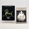 Böcker och häften 17 vol asiatisk konst och konsthantverk.