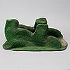 Ivor abrahams, skulptur, konstruktion i blandteknik, signerad och daterad 71.