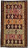A carpet, kilim turkiet, ca 318 x 183 cm.