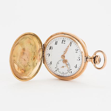 Zenith, pocket watch, hunter, 36 mm.