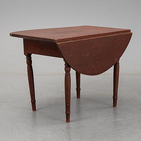 Klaffbord, 1800-tal.