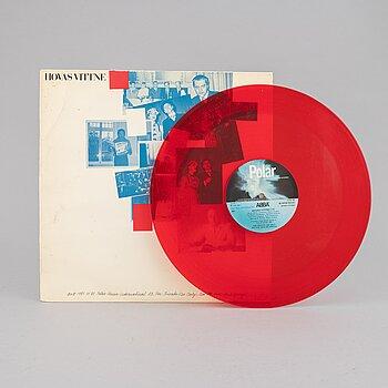 Vinyl Record, ABBA, 'Hovas vittne', 1981.