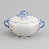 Alf wallander, a porcelain coffee pot, bowl and coffeecup, rörstrand early 20th century.