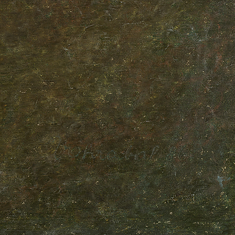 Josef vohrabal, oil on canvas, signed and dated 1986.