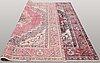 A carpet, oriental, ca 290 x 293 cm.