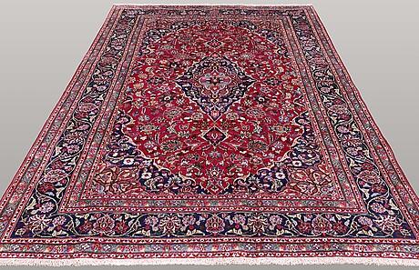 A carpet, mashad, ca 298 x 200 cm.