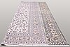 A carpet, kashan, signed, ca 402 x 296 cm.