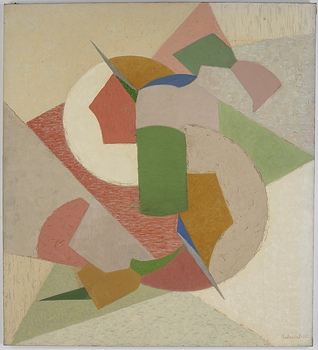 Josef vohrabal, oil on canvas, signed and dated 1972.