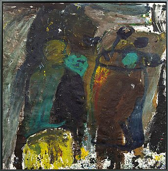 Erland Cullberg, oil on canvas signed.