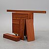A 1960's teak shelving system by poul cadovius.