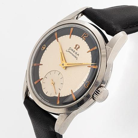 Omega, seamaster, armbandsur, 35,5 mm.