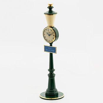 """Jaeger-LeCoultre, Recital, """"Rue De La Paix"""", mantel clock, 28 cm."""