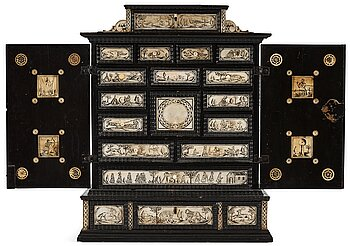 4. A Swedish cabinet from the late 17th century.