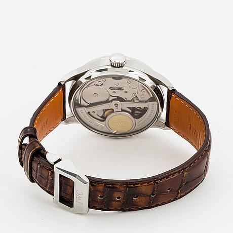 Iwc, schaffhausen, portuguese, armbandsur, 42 mm.