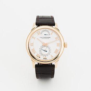 Chopard, L.U.C, Quattro, Chronometer, wristwatch, 43 mm.