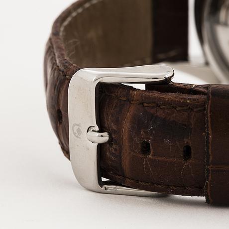 Eterna matic, chronometer, chronograph, wristwatch, 38 mm.