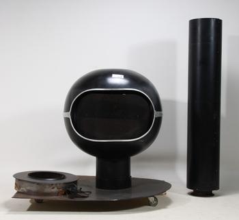 127225. KAMIN, Modell Bromma Handöl ca 1970.
