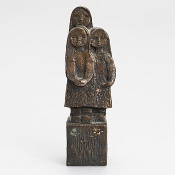 Kai Noramies, bronze, signed and dated -72.