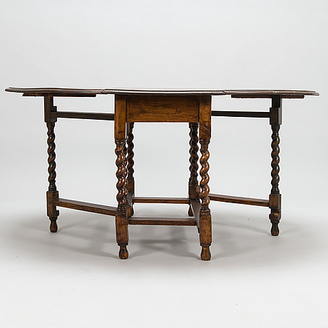 A first half of the 20th century folding table.