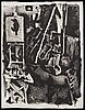 Pablo picasso, lithograph signed and numbered 16/50.