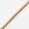Brilliant-cut diamon tennis bracelet.