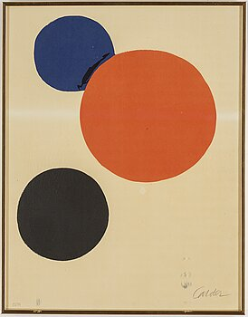 Alexander Calder, lithograph in colors, signed and numbered 25/75.