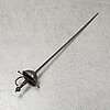 A spanish cup-hilted rapier, probably 19th century.