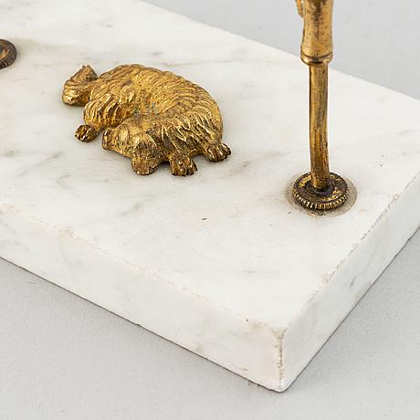 Läsljusstake, sengustaviansk, omkring år 1800.