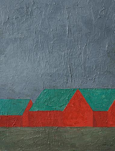 Philip von schantz, oil on canvas, signed, executed 1997.