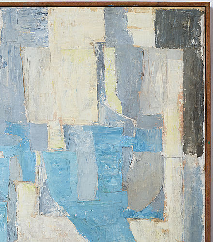 Philip von schantz, oil on canvas, signed, executed 1960.