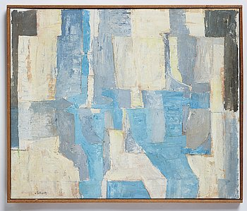 Philip von Schantz, oil on canvas, signed, executed 1960.