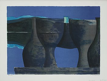 Philip von Schantz, lithographs in colour. Signed and dated -90. Numbered provtryck état VI.