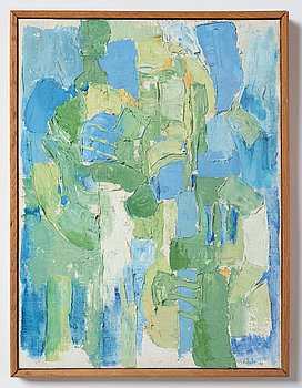 Philip von Schantz, oil on canvas, signed and dated -58.