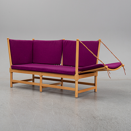A 'tremme' sofa by børge mogensen, for fritz hansen.