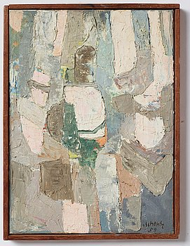 Philip von Schantz, oil on canvas. Signed and dated -59.
