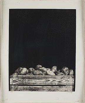 Philip von Schantz, etching, signed and dated -71, trial proof.