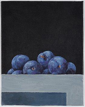 Philip von Schantz, olja på duk, intygad a tergo, utförd 1990.