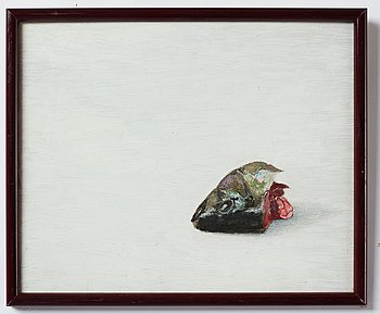 Philip von Schantz, oil on panel, certified verso, executed in 1980.