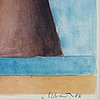 Philip von schantz, water colour. signed and dated -88.