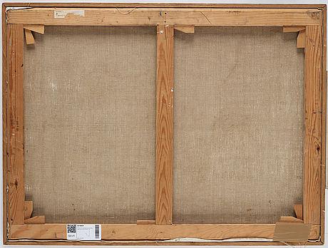 Philip von schantz, oil on canvas, signed, executed 1950.