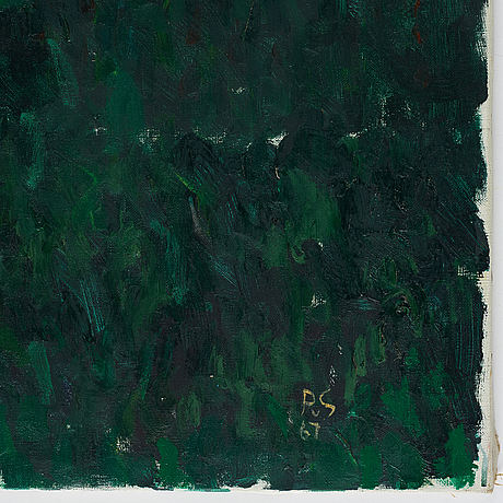Philip von schantz, oil on canvas, signed and dated 1967.
