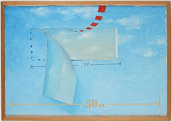 Philip von Schantz, oil on canvas, signed and dated -66.