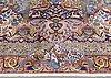 A carpet, figural kashmar, ca 360 x 260 cm.