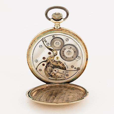 Viking, pocket watch, hunter, 51 mm.