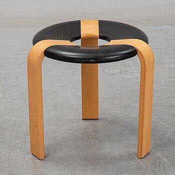 Rud Thygesen & Johnny Sørensen, a beech bentwood stool, Magnus Olesen, Durup, Denmark.