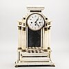 A mid 19th century table clock.